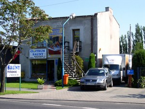 Historia Centrum Sauny - siedziba